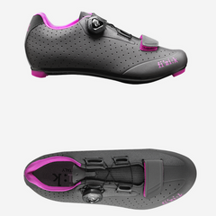 Fizik Donna Road Shoe - Grey / Pink