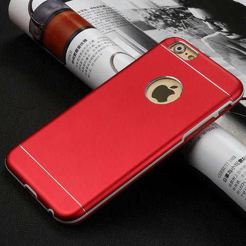 Red Aluminum IPhone case,Drop Protection, Aluminum PC Tpu,IPhone 6 case,iPhone 6 Plus Case,