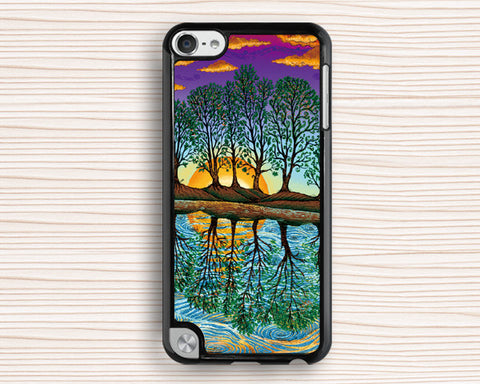 green forest my home ipod case,vivid forest ipod 4 case,idea ipod touch 4 case,idea ipod touch 5 case,personalized ipod touch 5 case