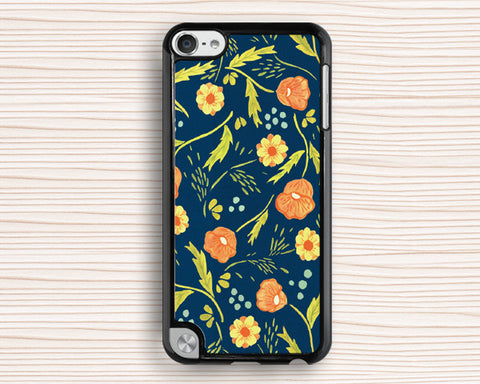 Classical flower ipod case,floral ipod 4 case,gift ipod 5 case,flower touch 4 case,art touch 5 case,flower ipod touch 4 case,ipod touch 5 case
