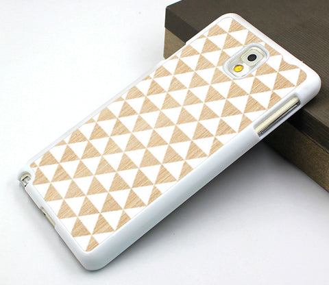triangle Samsung case,wood triangle samsung Note 4 case,pattern samsung Note 3 case,white wood samsung Note 2 case,art wood Galaxy S3 case,wood design Galaxy S4 case,unique Galaxy S5 case
