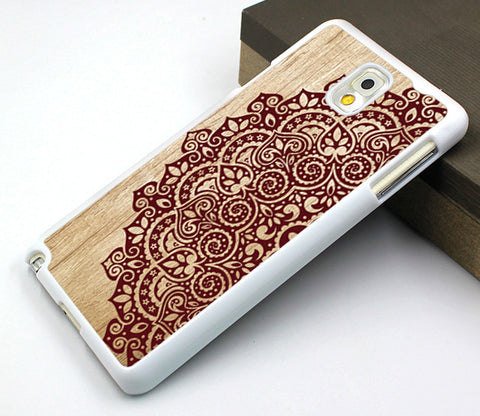 Samsung case,lace flower Galaxy S3 case,art flower Galaxy S4 case,wood floral image Galaxy S5 case,lace floral samsung Note 3 case,mandala flower samsung Note 2 case,best seller samsung Note 4 case