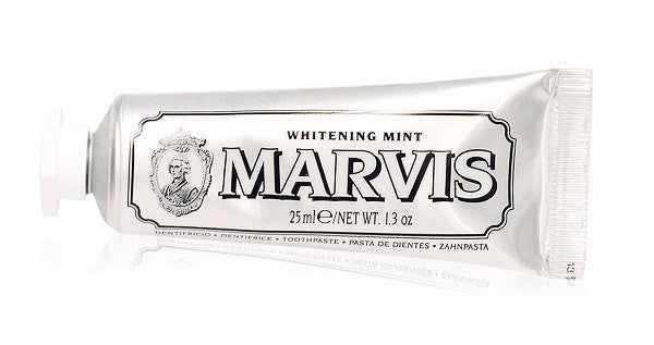 Marvis Toothpaste | Whitening Mint Travel Size - Tailor & Spruce