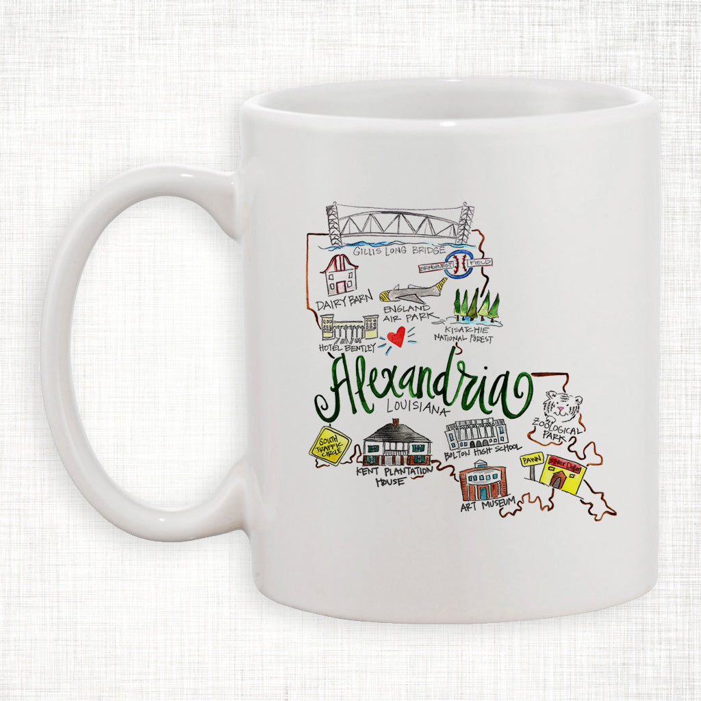 Alexandria Coffee Mug