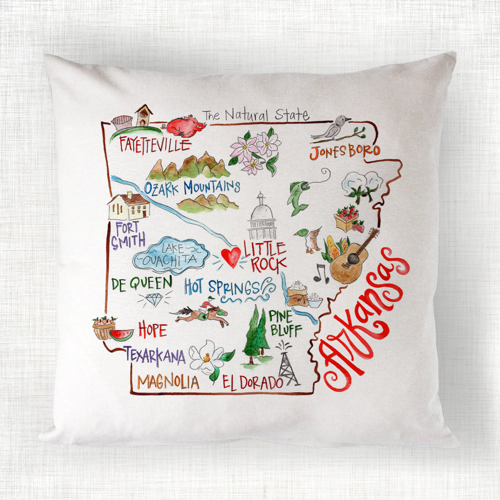 Arkansas Pillow