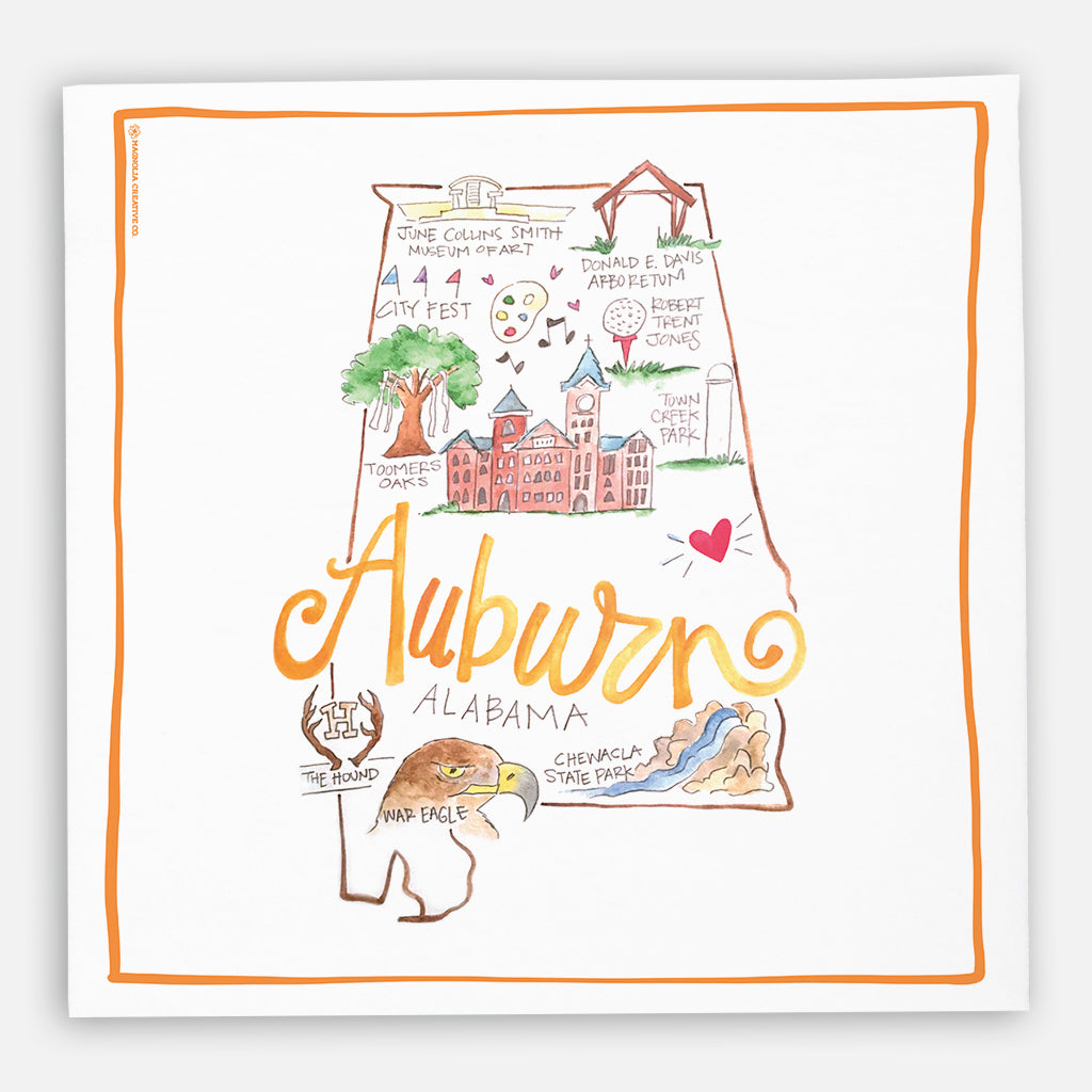 Auburn Kitchen Towel