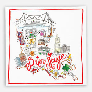 Baton Rouge Kitchen Towel