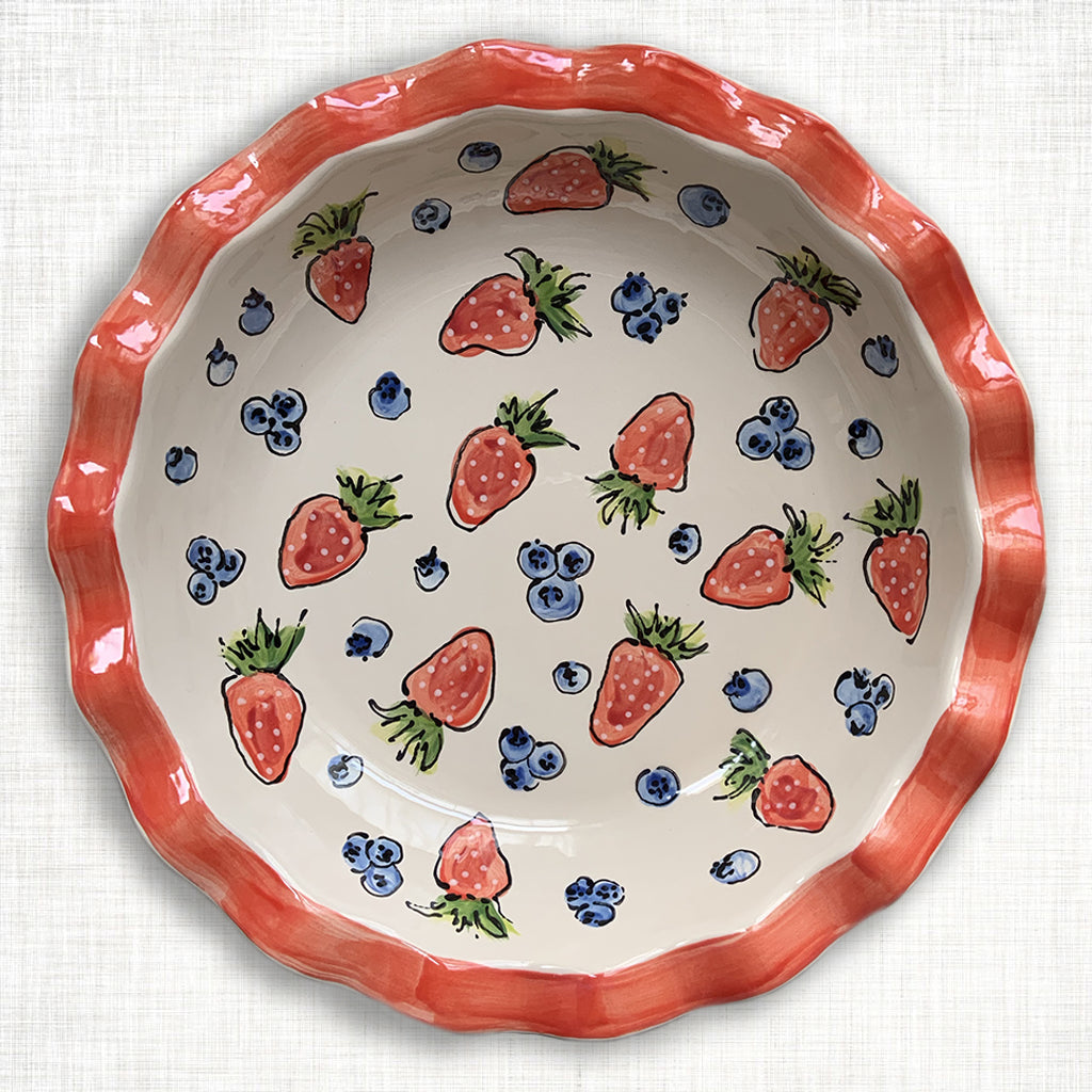 Berry Pie Plate