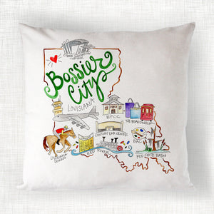 Bossier City Pillow