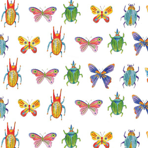 Bugs and Beetles Gift Wrap