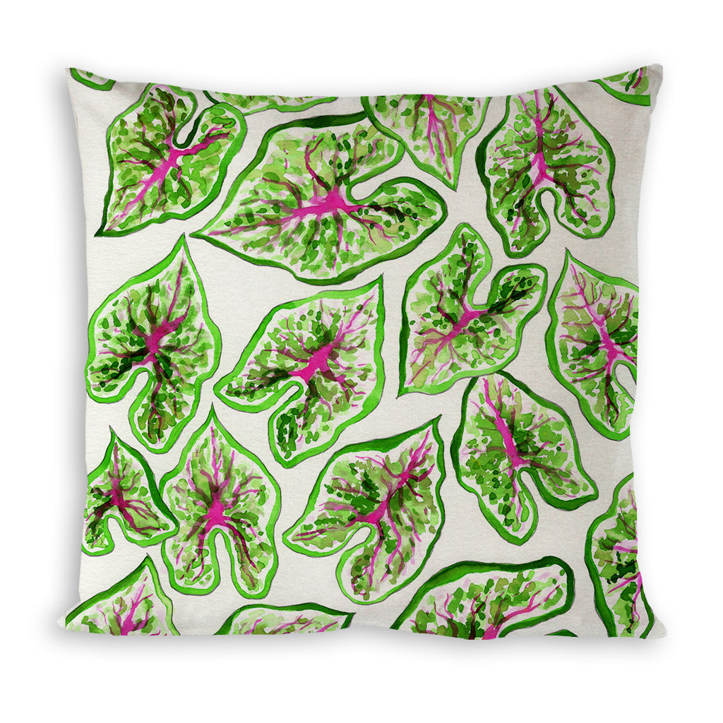 Caladium Pillow