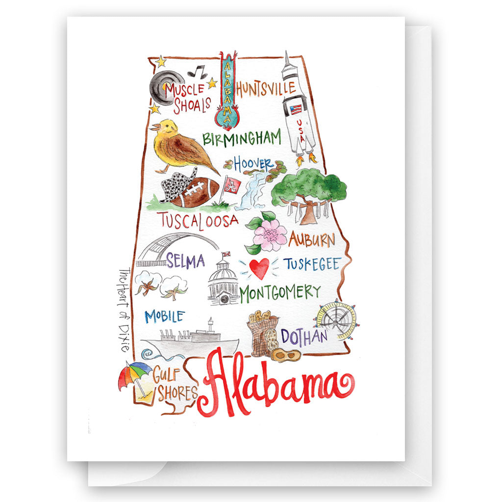 Alabama Card