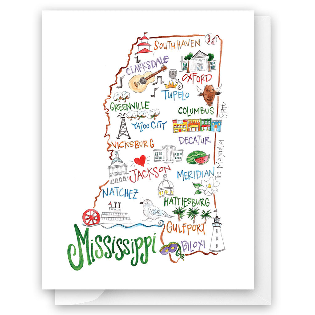 Mississippi Card