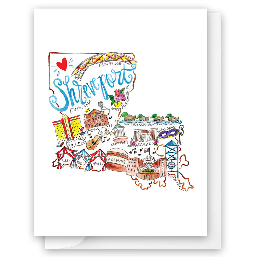 Shreveport Card