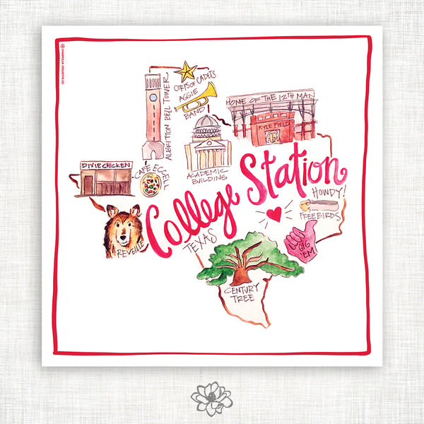 College Station Kitchen Towel