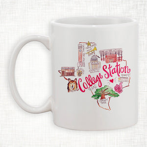 College Station Coffee Mug
