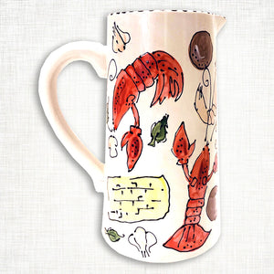 Crawfish Pitcher
