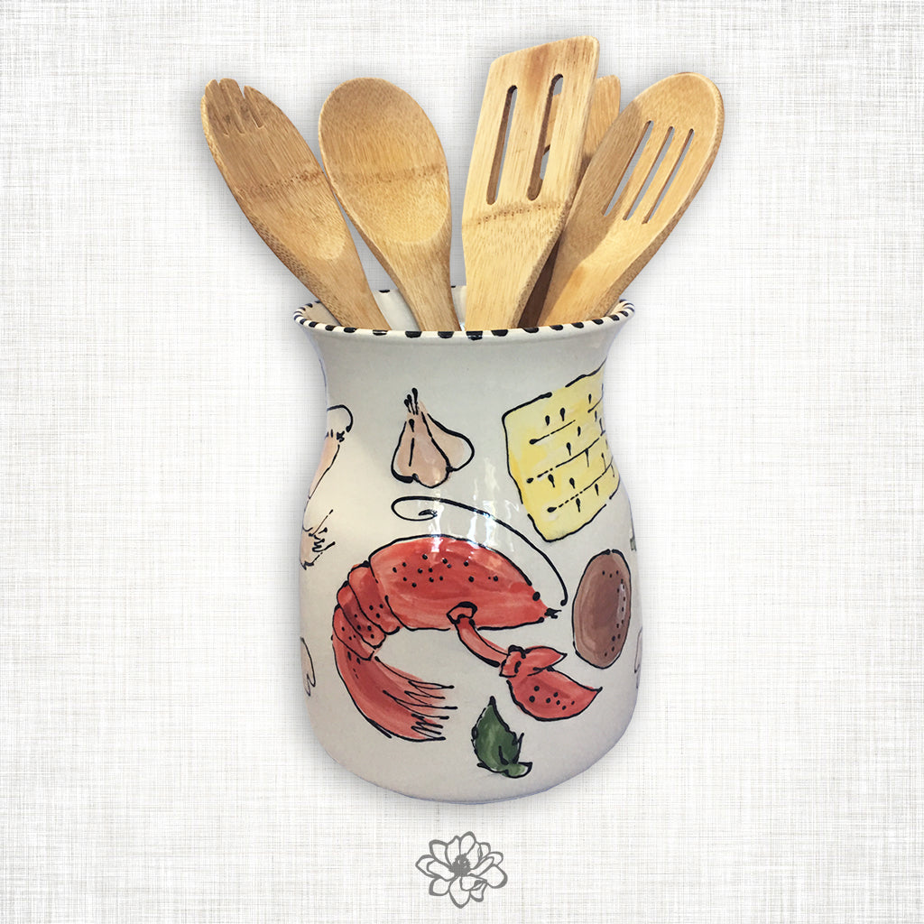 Crawfish Utensil Holder