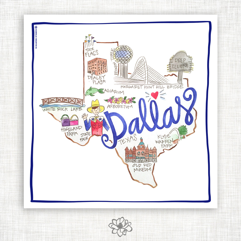 Dallas Kitchen Towel