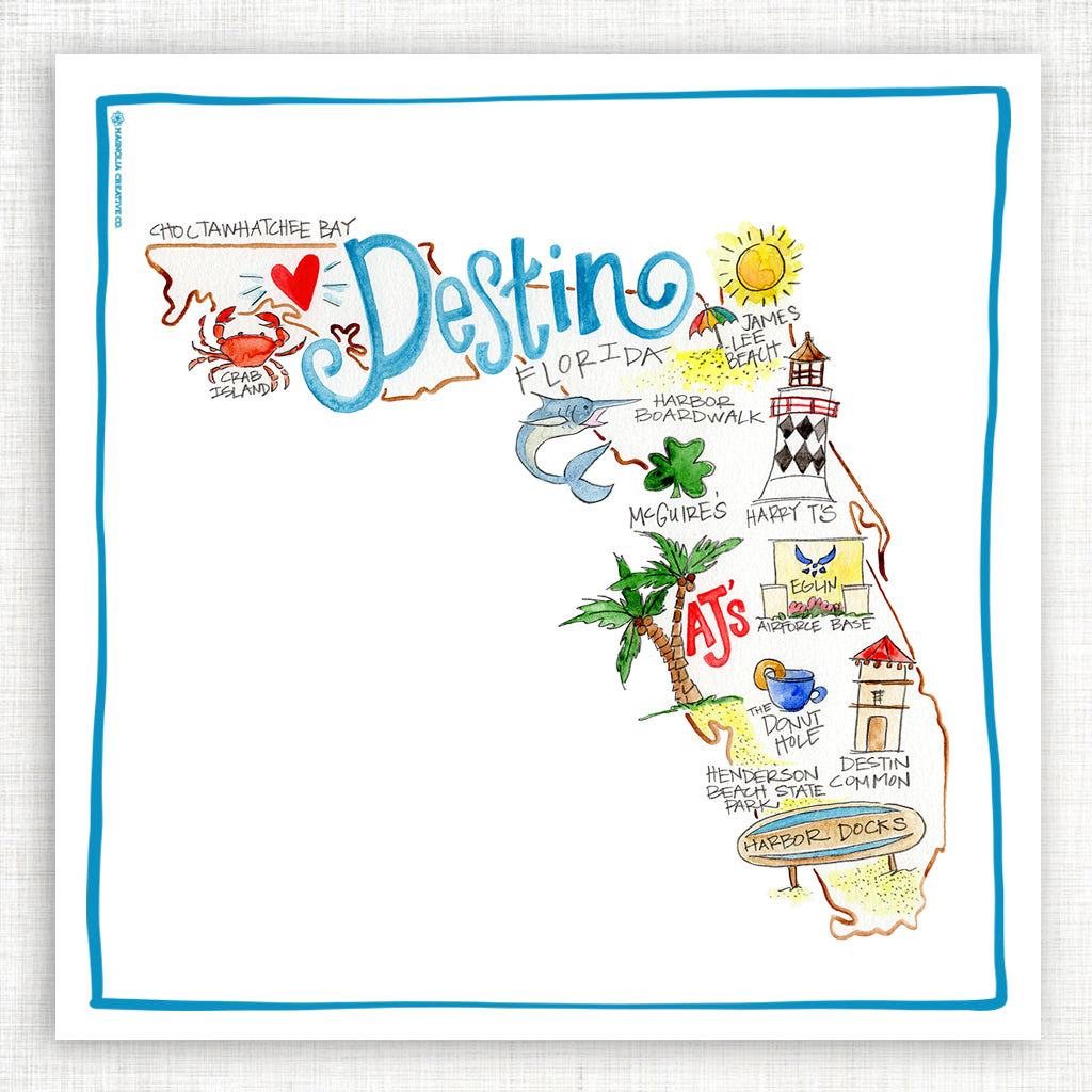 Destin Kitchen Towel