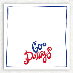Go Dawgs Kitchen Towel