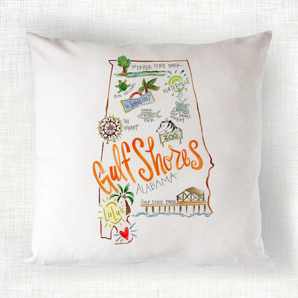 Gulf Shores Pillow