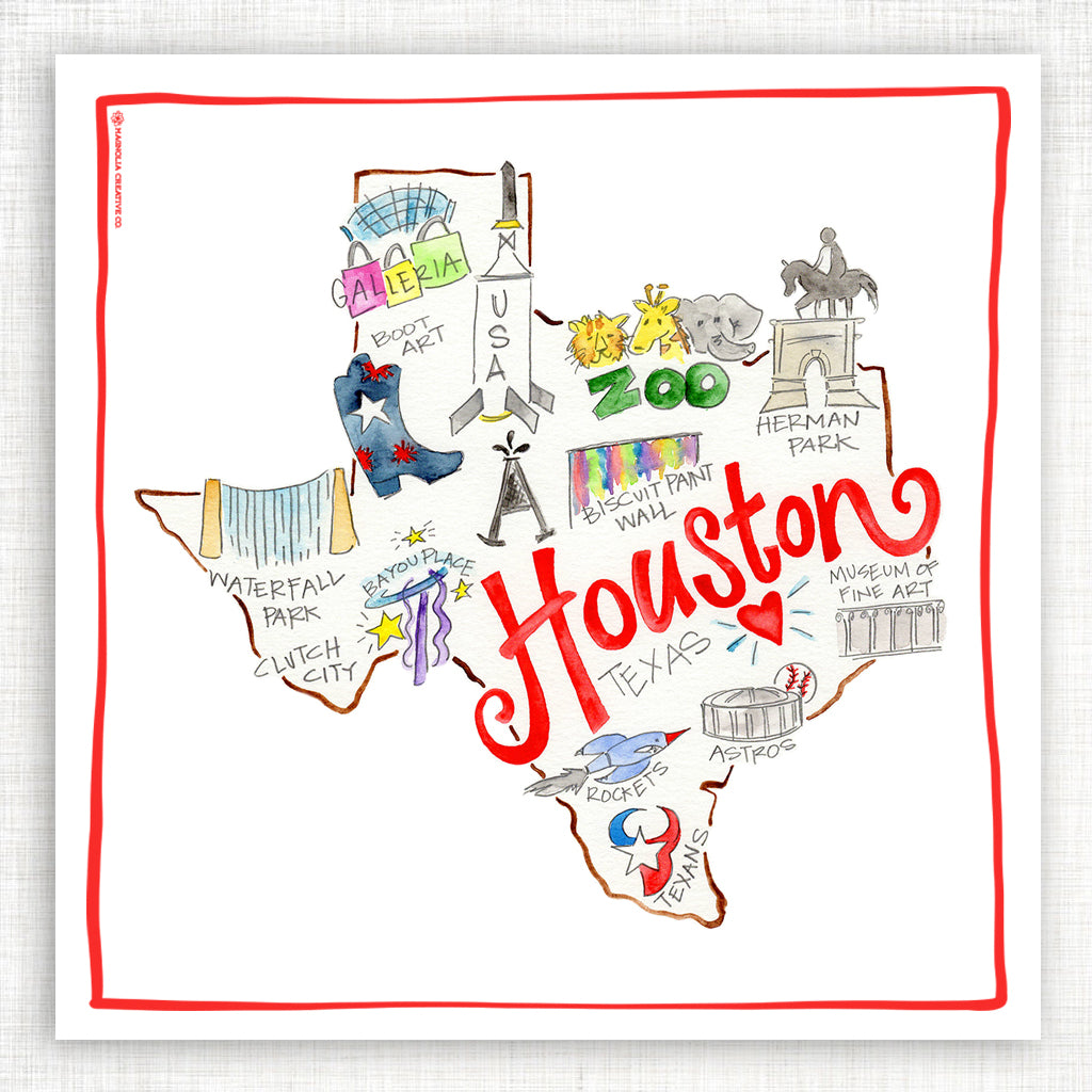 Houston Kitchen Towel