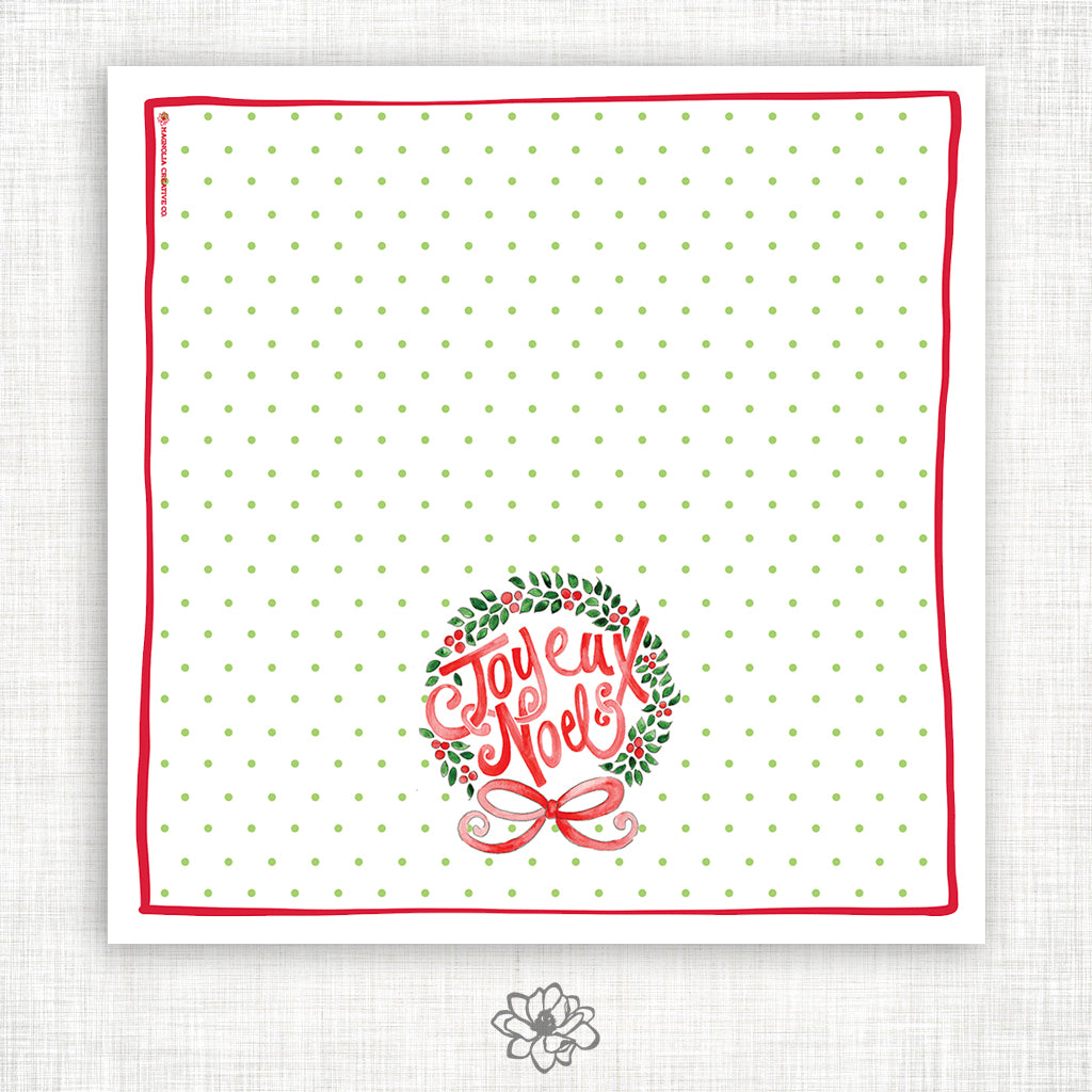 Joyeux Noel Kitchen Towel