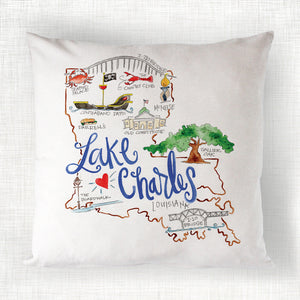 Lake Charles Pillow