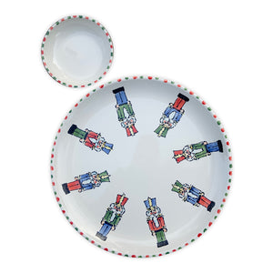 Nutcracker Large Serving Set