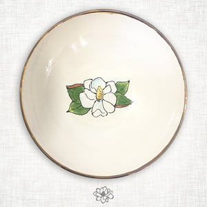 Magnolia Serving Bowl