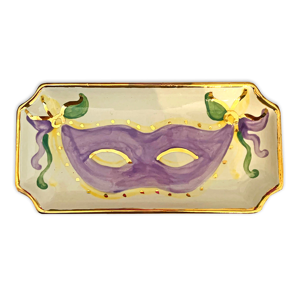 Small Mardi Gras Orleans Tray