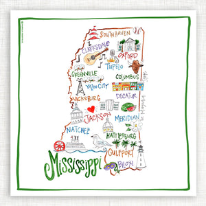 Mississippi Kitchen Towel