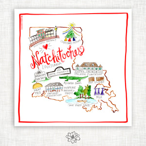 Natchitoches Kitchen Towel