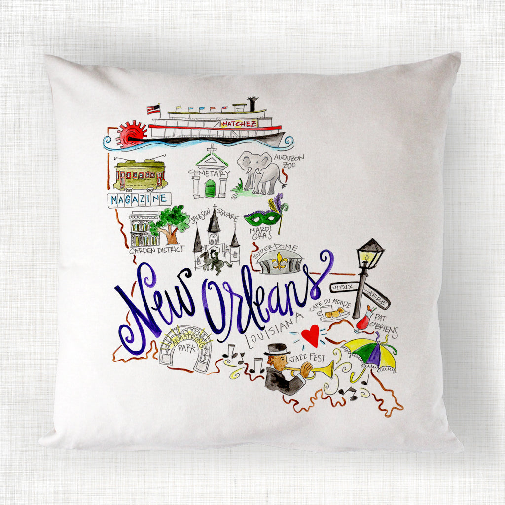 New Orleans Pillow Magnolia Creative Co