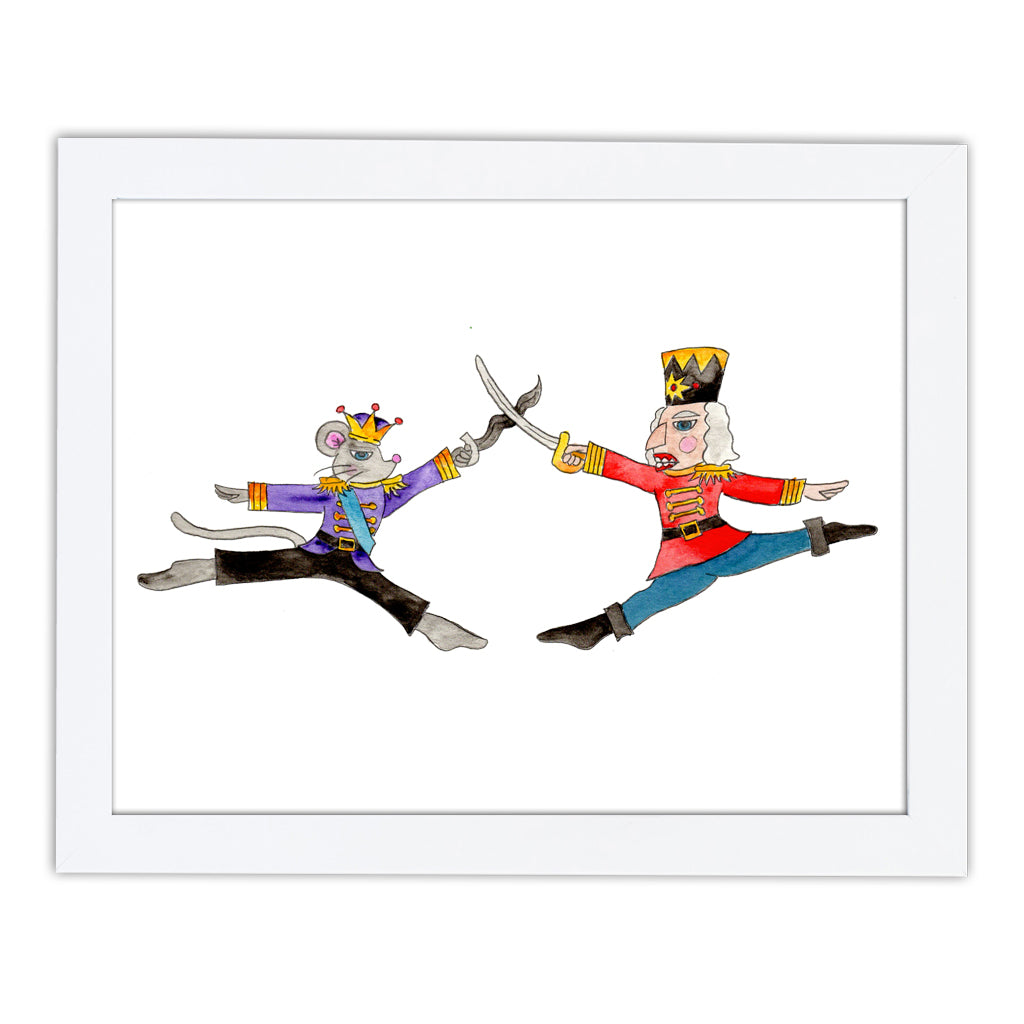 Nutcracker Battle Art Print
