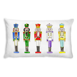 Nutcracker Lumbar Pillow