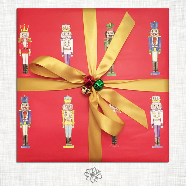 Nutcracker Wrapping Paper
