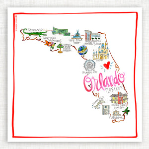 Orlando Kitchen Towel