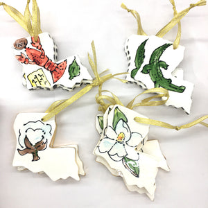 Louisiana Cotton Ornament
