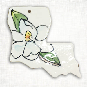 Louisiana Magnolia Ornament