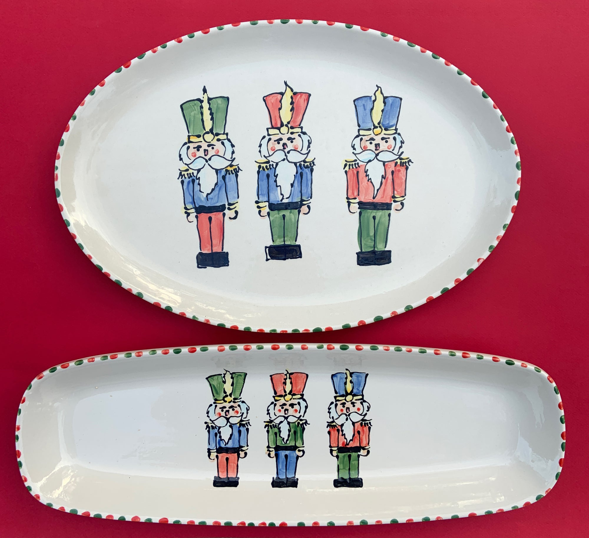Nutcracker Oval Platter