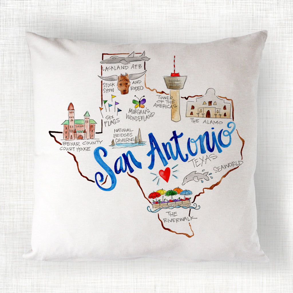 San Antonio Pillow