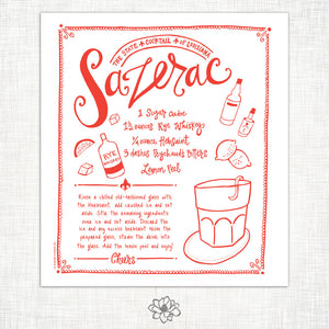 Sazerac Kitchen Towel