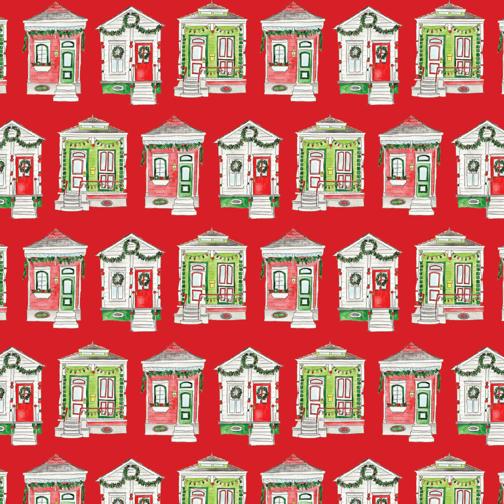Shotgun House Gift Wrap