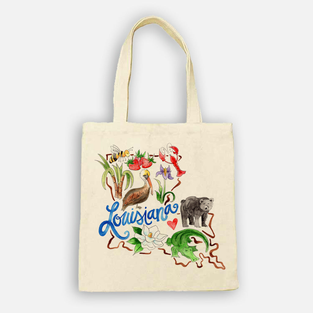 Louisiana Favorites Tote Bag