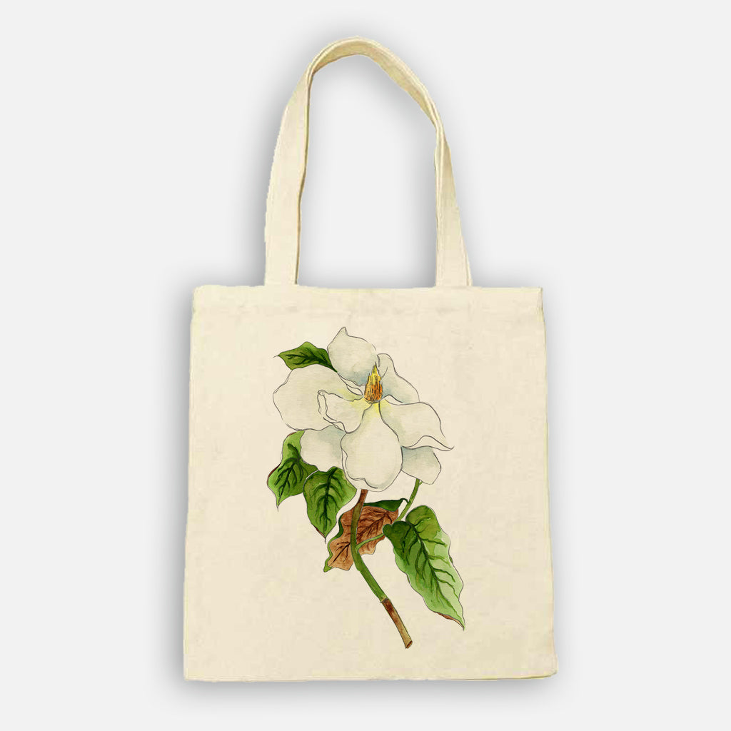 Magnolia Stem Tote Bag
