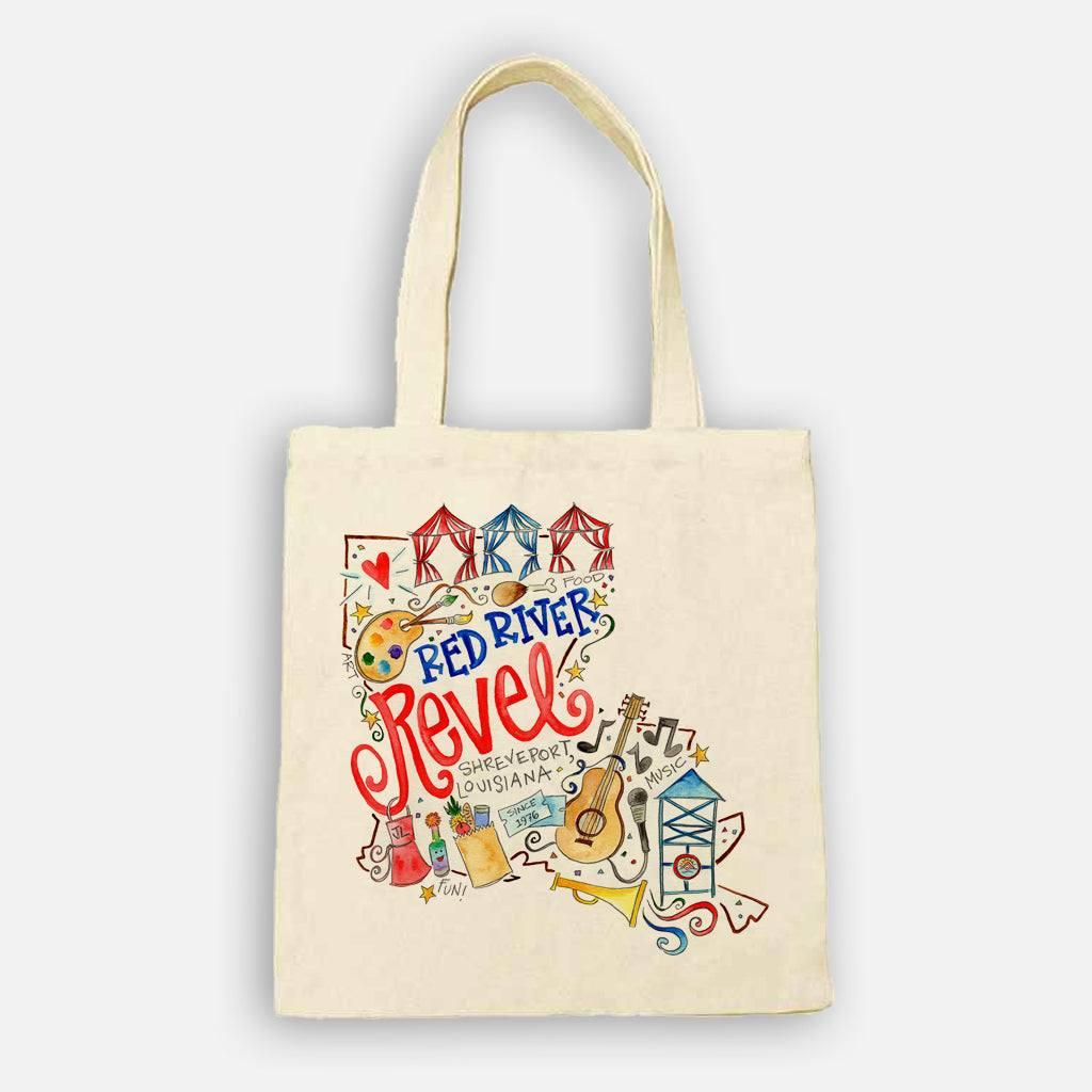 Red River Revel Tote Bag