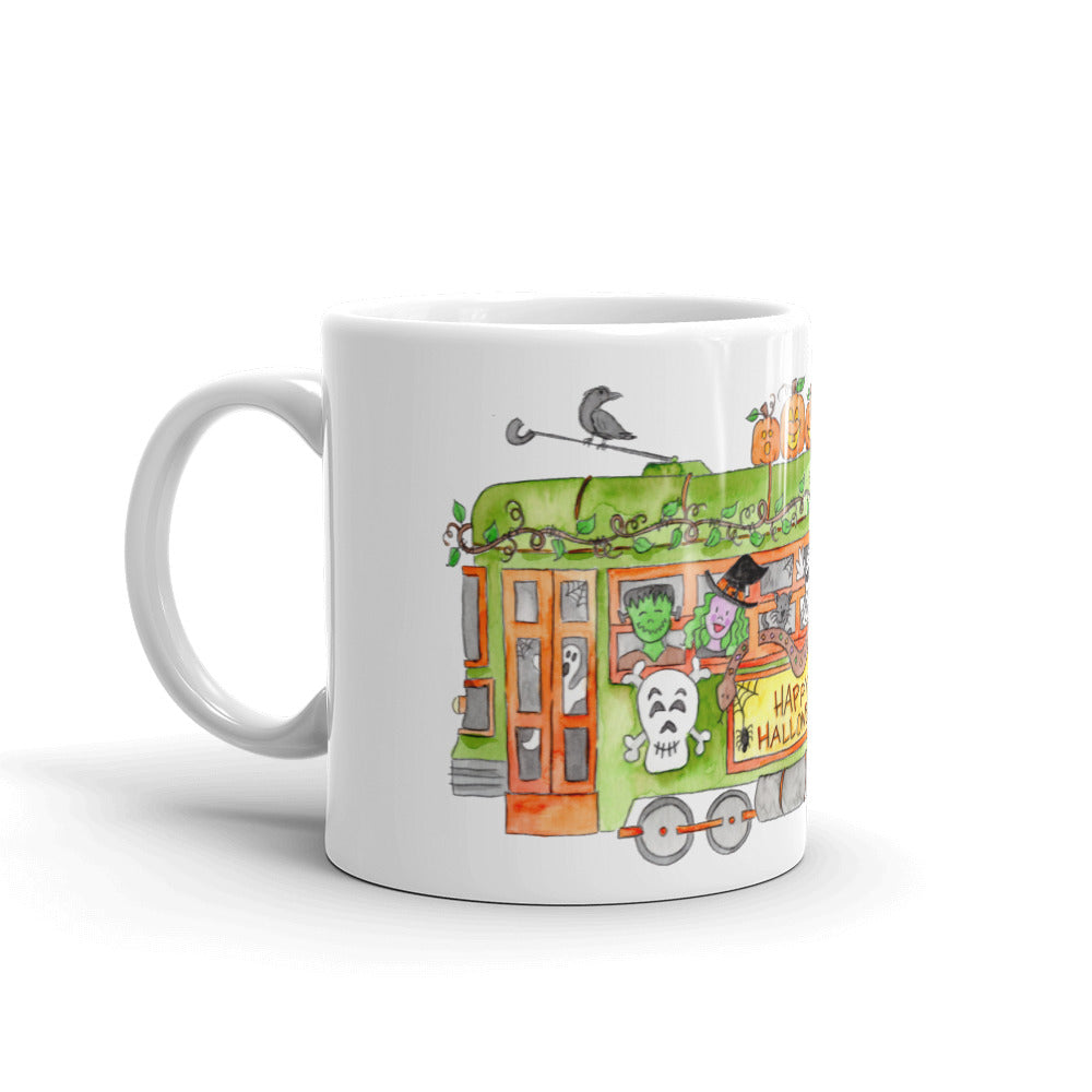 Halloween Trolley Mug