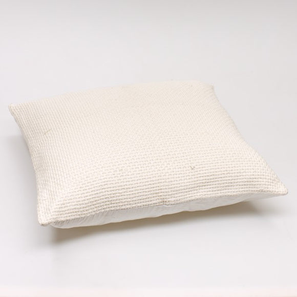 Chunky Casual Cushion Cover - White
